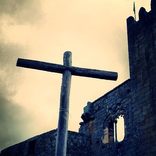 a minha cruz [castelo de belmonte] Cruz Castelo Belmonte Janela Manuelina Torre Castle Window Tower Cruxifix Fotodesafio9