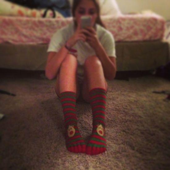 Tis The Season To Wear Toe Socks