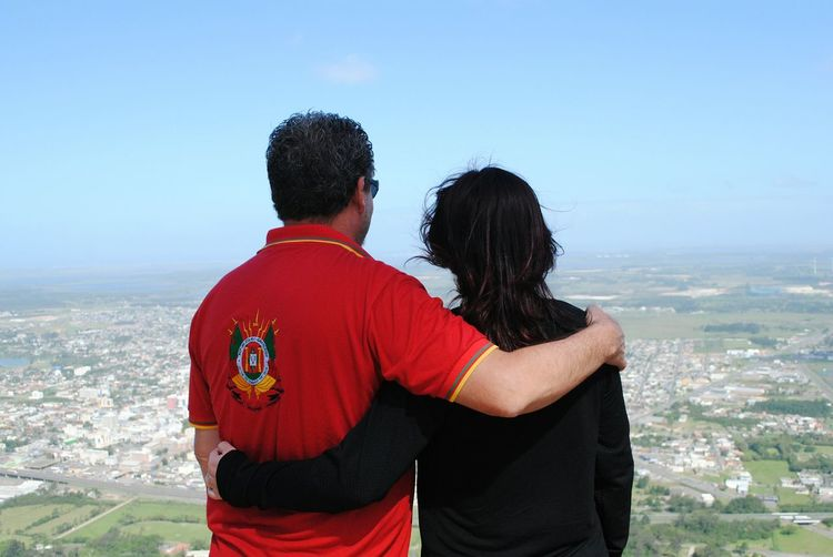 Two People Togetherness Young Adult Heterosexual Couple Love City Cityview Couple Couples Shoot Couple Photography View Point View Love Is In The Air Hug