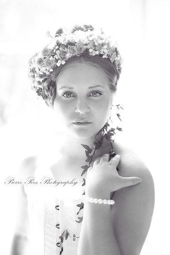 Flowers Bride Portrait Weloveeskilstuna