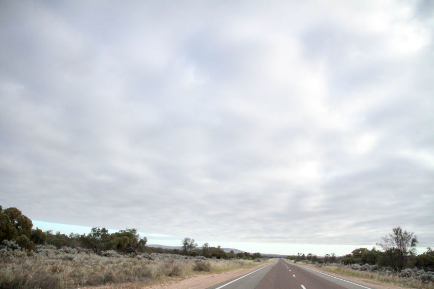 Nullarbor Plain Nullarbor Plain Nullarbor Road Sky Transportation Cloud - Sky The Way Forward Direction No People Nature Landscape Environment Day Non-urban Scene Tranquility Tranquil Scene Country Diminishing Perspective Outdoors