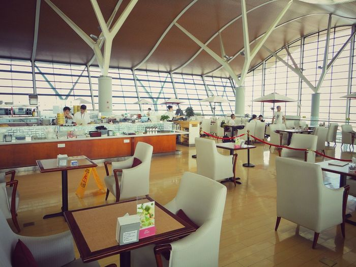Indoors  Chair Table Desk Empty Business Window Office Day Corporate Business Modern Architecture No People Airportphotography Airport Lounge Airportlife Airport Photography Airport Cafe Good View Airport Waiting Airport Airport Life