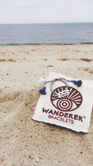 Lewes Beach Coordinates!! Love my wanderer bracelet. Lewesbeach Delaware Wandererbracelet Coordinate EyeEm Best Shots Home Sweet Home Beach Atlantic Ocean Love