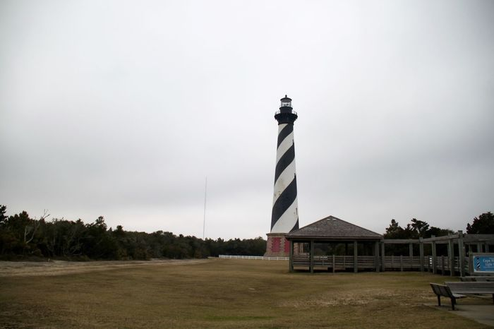 Cape Henry Lighthouse Lighthouse North Carolina Outer Banks, NC USA Architecture Building Exterior Built Structure Cape Hatteras No People