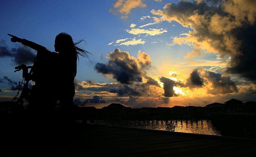 Silloutte Amazing Borneo Photography