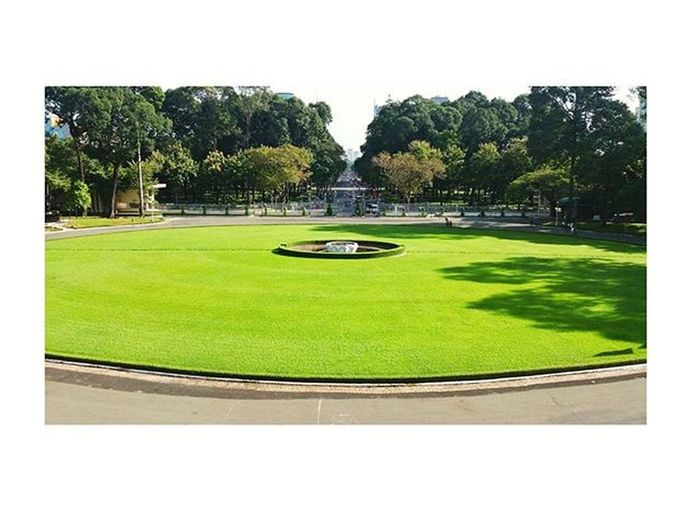 Dinhdoclap DinhĐộcLập Hcmcity Cool Green Grass Independentpalace 💕💕💕💕💕💕💕