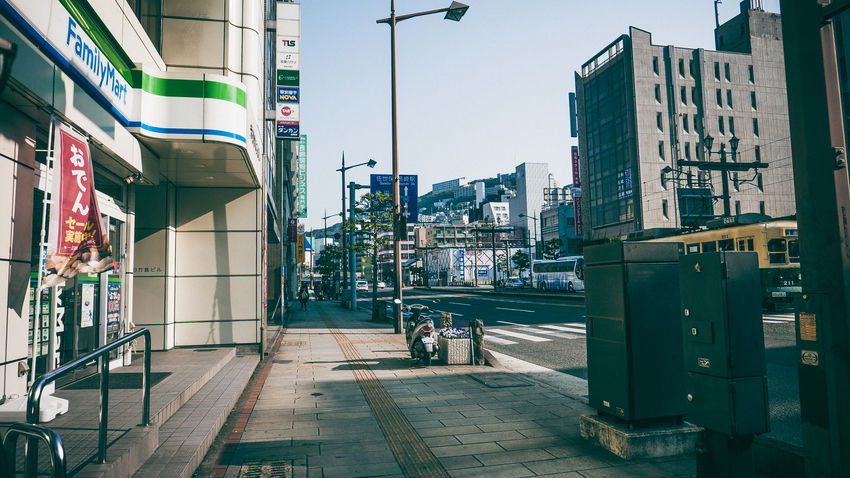Architecture Built Structure City Day Nagasaki No People Outdoors Street Streetphotography