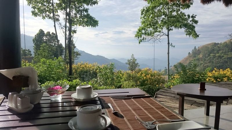Sunrise Little Adams Peak Breakfast With A View