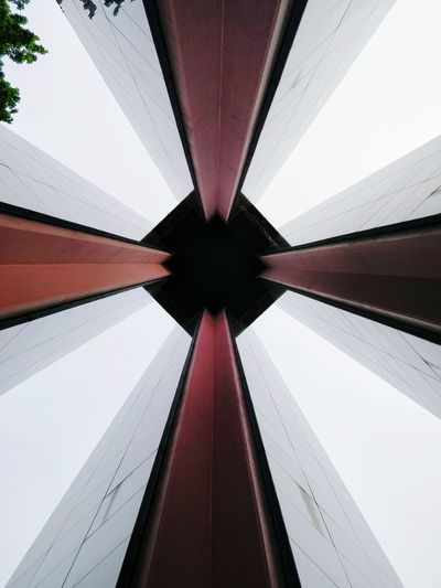 Carillon Carillontower Tower Symmetry Architecture Built Structure No People Day Outdoors Sky Sunday Sound Music Bell Tower Bells Abstract White Color #FREIHEITBERLIN