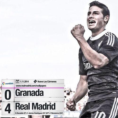 Halamadrid Real Madrid Madridista Score Liga LaLiga BBVA James Ronaldo Cr7 Christiano Realmadrid Karim  Benzema Rodriguez ❤️❤️❤️❤️❤️