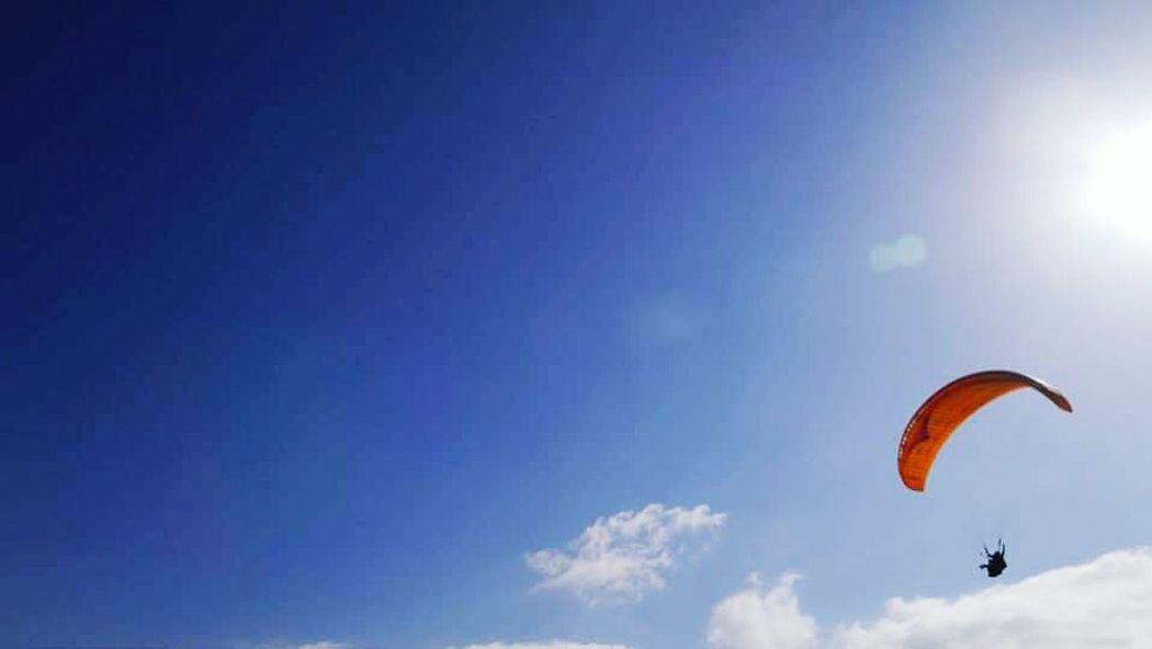 feel the air Freedom First Eyeem Photo Sky Blue Sky