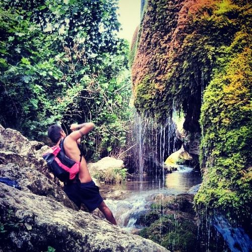 Fotografia Paisajes SPAIN Rio Cascada Cueva Agua Verde Plantas Naturaleza Vida Nice Viajes