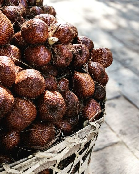 Snakefruit Exotic Travel INDONESIA Fruit Stand Fruit Stall Fruit Market Market Village Village Life Plants And Flowers Snakefruit Snake Fruit Photography Fruits And Vegetables Food Food And Drink No People Day Sunlight Outdoors Close-up Fruit Healthy Eating Freshness Nature