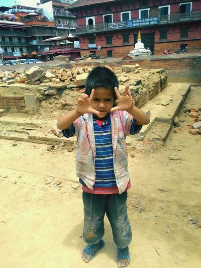 Child with full of hope and aims to become the part of Nepal Army. First Eyeem Photo