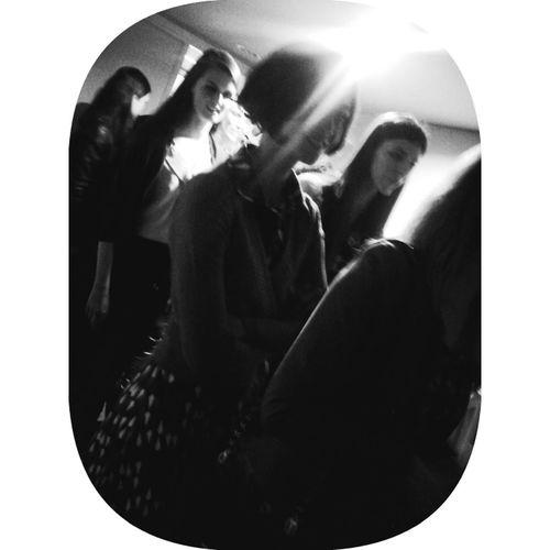 Backstage @L&L fashionshow W14...