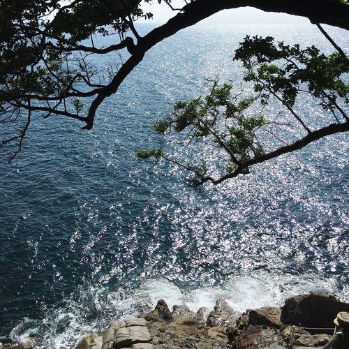 波光粼粼 Nature RockBeach Sunnyday