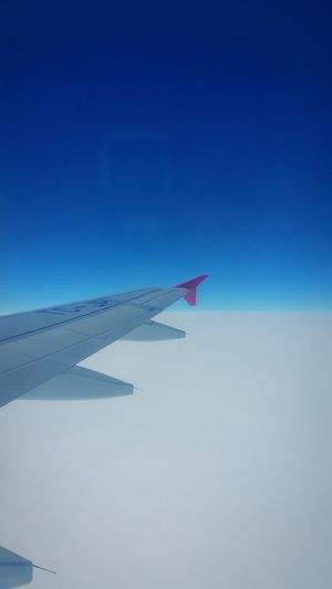 From Helsinki to Istanbul 29th March 2015. White White And Blue The View From My Window View From The Window... From An Airplane Window Turkish Airlines White Clouds And Blue Sky Clouds And Sky Flying Over Clouds Aeroplane Wing Aeroplane Window