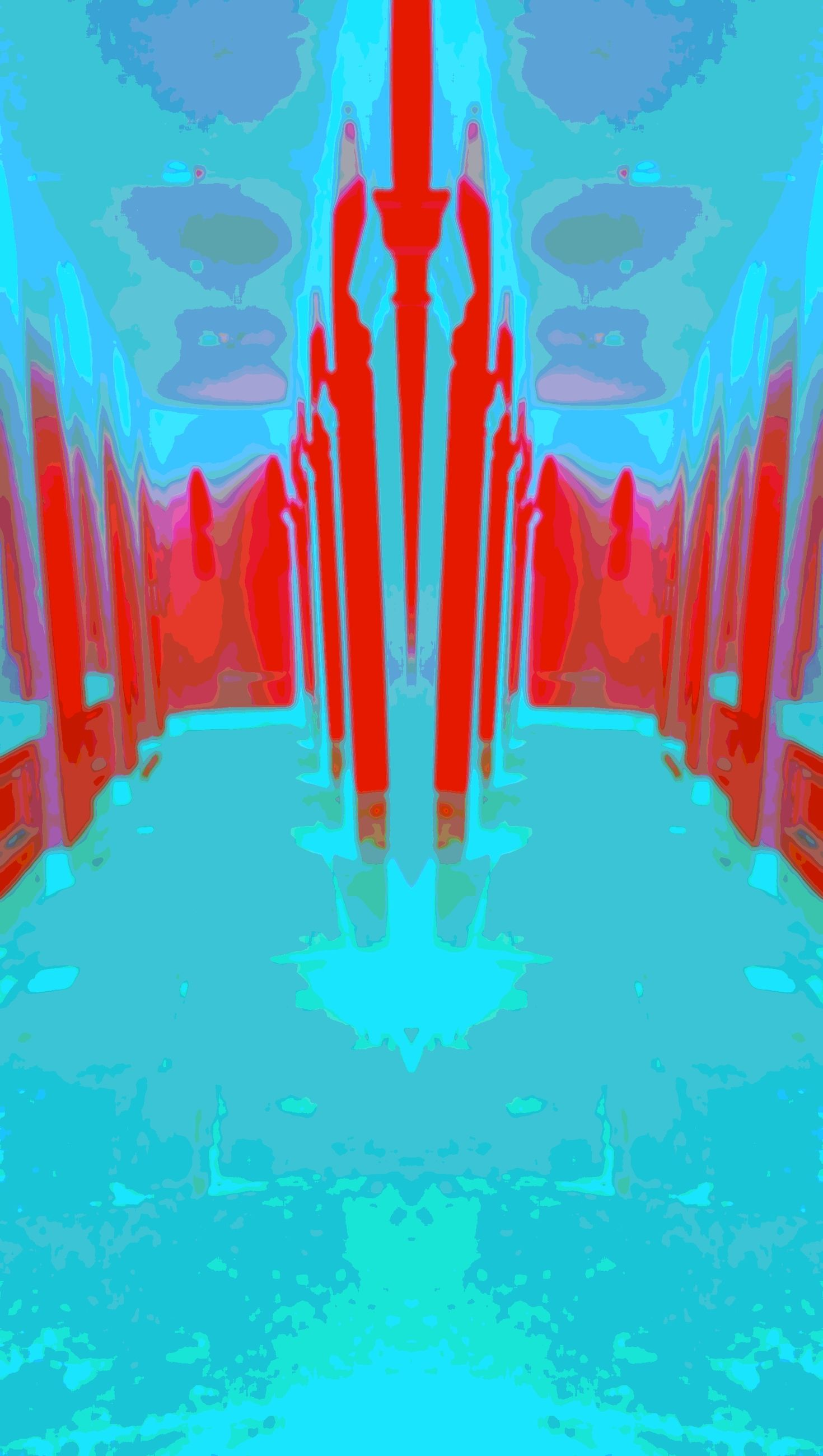 blue, swimming pool, water, built structure, architecture, red, wall - building feature, turquoise colored, sunlight, indoors, pattern, multi colored, no people, reflection, day, close-up, low angle view, building exterior, steps