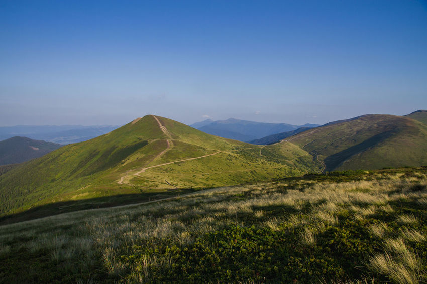 Dragobrat Dragobrat,Ukraine Travel Travel Photography Ukraine Beauty In Nature Clear Sky Day Landscape Mountain Mountain Range Nature No People Outdoors Scenics Sky Tranquil Scene Tranquility Travel Destinations