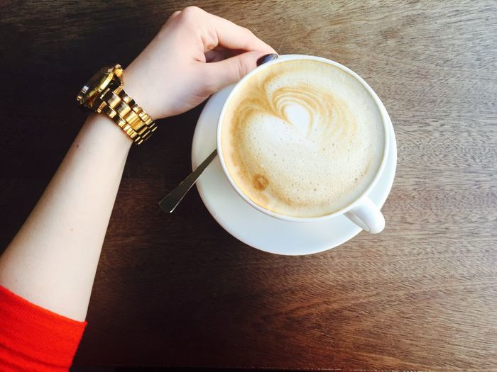 Saint coffee :-) Coffee Hand Details Coffee At Home Liquid Lunch