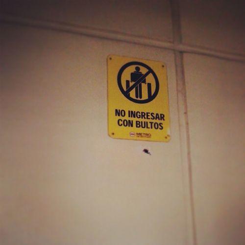 los hombres no pueden entrar mh Hombres Metro Patronato
