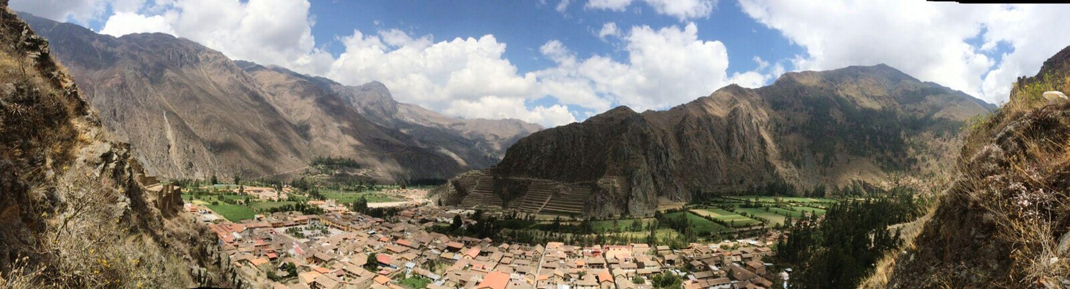 Ollataitambo Ruinas Templodelsol Peru