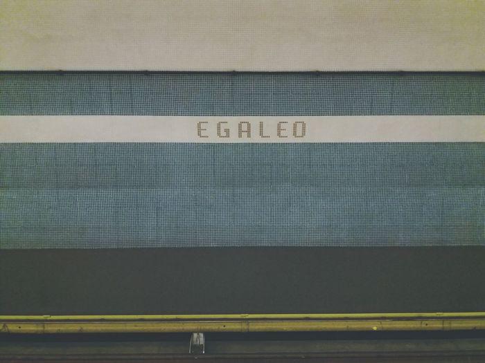 Greek Metro Blue Texture Background Pattern Metro Station Metro Station