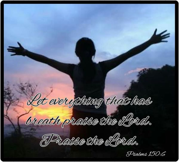 Let everything that has breath praise the Lord. Bible Verse Of The Day Spread The Word Be Encouraged Lifestyle Keep The Faith Hneriah's Joyney Declare Claim Believe Word Of God