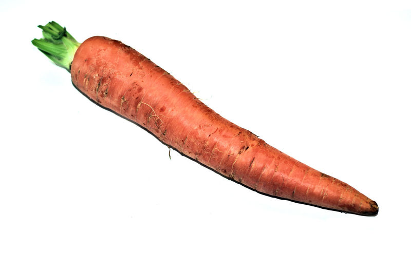 carrot beautiful closeup Close-up Food Food And Drink Healthy Eating Meat No People Orange Orange Objects Plant Plants Studio Shot Vegetable White Background
