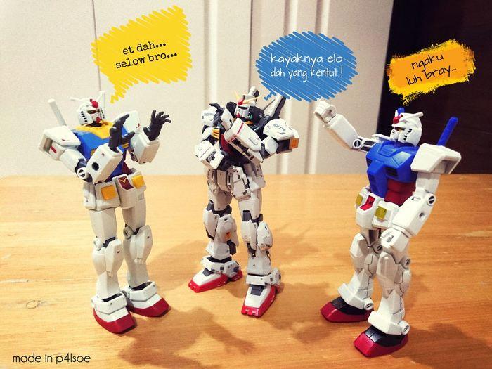 Gundam Parodi by P4lsoe