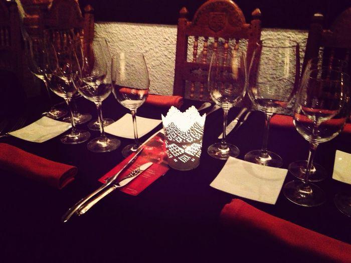 Cena en Careal De la Morería
