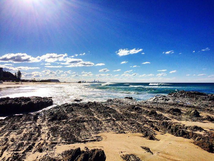 Autumn beachscape Beach Sand Surf Sun Check This Out