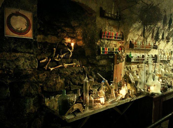 Pidgirtsi Castle Chemistry Lviv