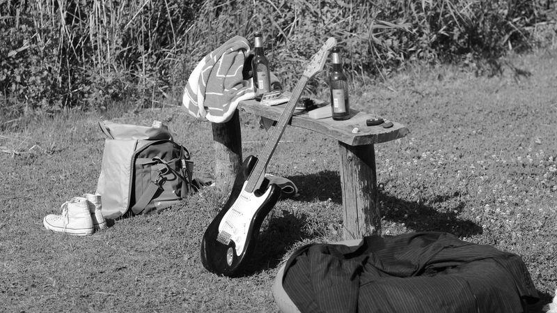 Brandenburg Day Grass Music Musical Instrument Musician Nature Outdoors S/w Trzoska Uckermark