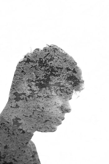Double Exposure Doubleexposure Taking Photos Enjoying Life First Doubel Exposer Lebanon Nabatieh Stone Stoned HEAD Head And Shoulders Exposed White Background Blackandwhite Black And White Black & White Blackandwhite Photography Black&white Black And White Photography Blackandwhitephotography Black And White Collection  Black And White Portrait Check This Out Creativity Creative Light And Shadow