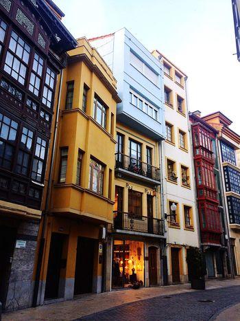 Avilés,Spain Building Exterior Built Structure Window House No People City Balcony
