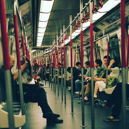 Minoltax700 Minolta50mm Kodakektar100 Hkmtr 日常生活 地下鐵 隨影亂拍 HongKong Hongkongmtr Lifestyle Peoples Subwaytrain Kodak_photo
