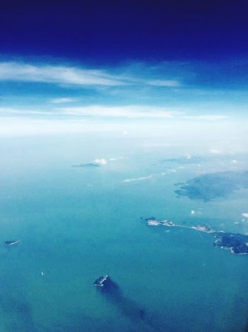 KML from China to Uk EyeEm Nature Lover Sea Clouds And Sky Island