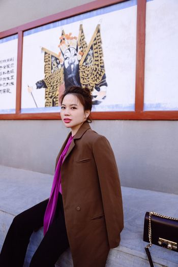 Hutong Beijing One Person Clothing Portrait Women Real People