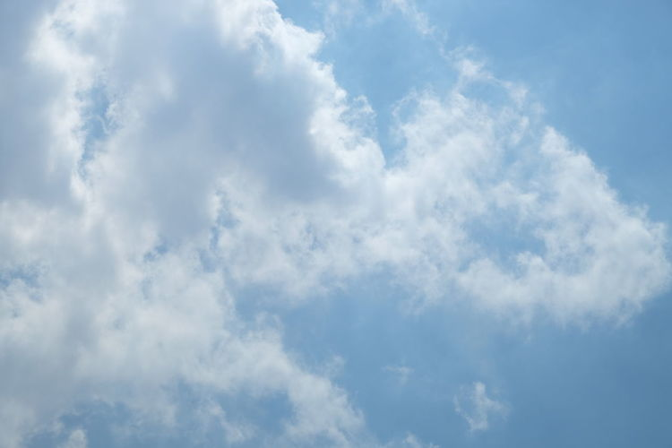 Sky with cloud Cloud - Sky Sky Blue Cloudscape Backgrounds Atmosphere Beauty In Nature White Color Dramatic Sky Sunlight