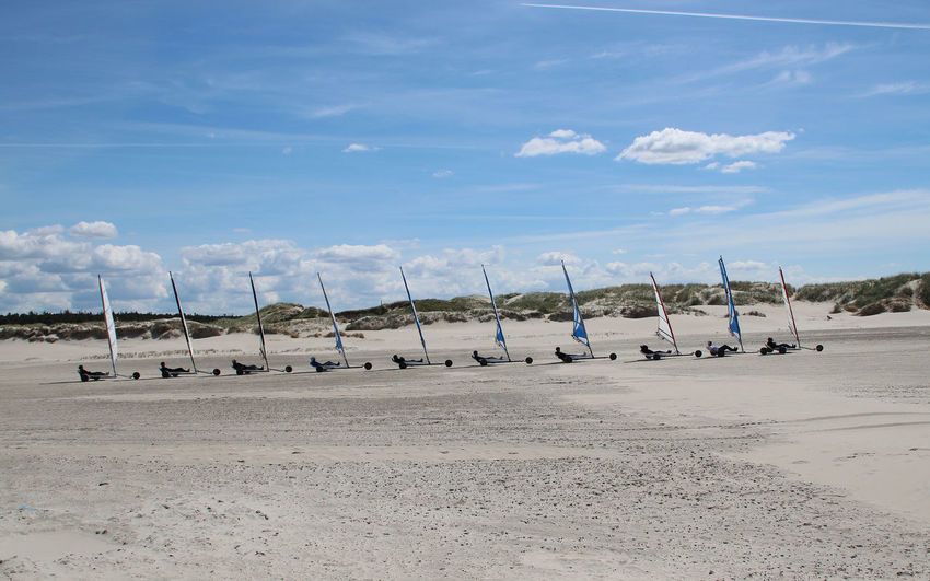 Beach Buggy in a Row Beach Buggy  Blue Buggy In A Row Nature Outdoors Sand Sea Sky Sunlight Training Water