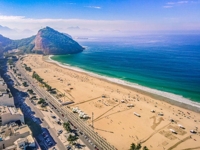 Connected Worlds Beach Beauty In Nature Copacabana Day Horizon Over Water Leme Beach Mountain Nature Outdoors Rio De Janeiro Sand Scenics Sea Sky Tranquility Water Flying High