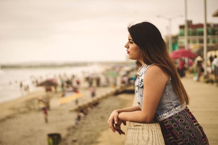 Relaxing Beachphotography Tijuanamexico Outdoors Pretty Girl Enjoying Life Hanging Out
