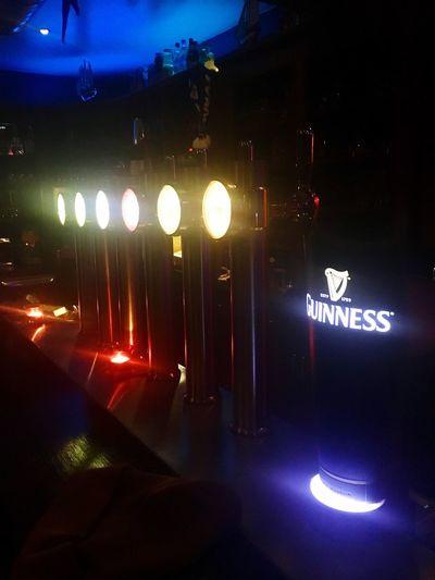 Shamrock Irish Pub Apéro 😉 Night Lighting Equipment Indoors  Illuminated IPhoneography Bière