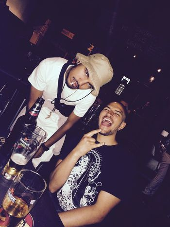 Obs Capetown Me&benjie He's From Switzerland I'm From The Kaap Apex