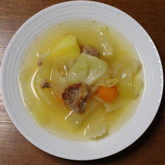 ポトフ風 / Pot-au-feu Pot-au-feu High Angle View Food Close-up No People Ready-to-eat Bowl Table Indoors  Day