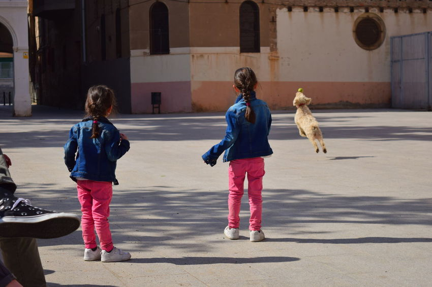 Childhood Girls Togetherness Dog Running Barcelona, Spain Neighborhood Map The Street Photographer - 2017 EyeEm Awards Street Photography Raval Barcelona CCCB BYOPaper! Place Of Heart Sommergefühle Your Ticket To Europe Pet Portraits Done That. EyeEm Ready   An Eye For Travel This Is Family Adventures In The City Focus On The Story