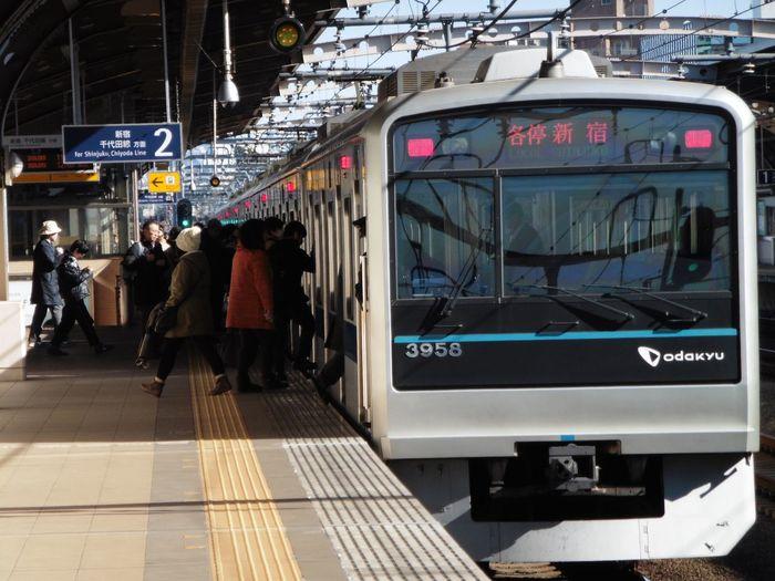 電車 小田急 千歳船橋
