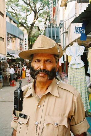 Analogue Photography City City Life Day Faces Of India Focus On Foreground Minolta Dynax 505si People Of India Portrait Through India 2008