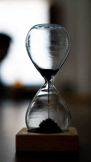 Still Waiting... Accuracy Close-up Deadline Focus On Foreground Glass - Material Hourglass Indoors  Instrument Of Time Land Nature No People Sand Single Object Still Life Table Time Transparent Urgency